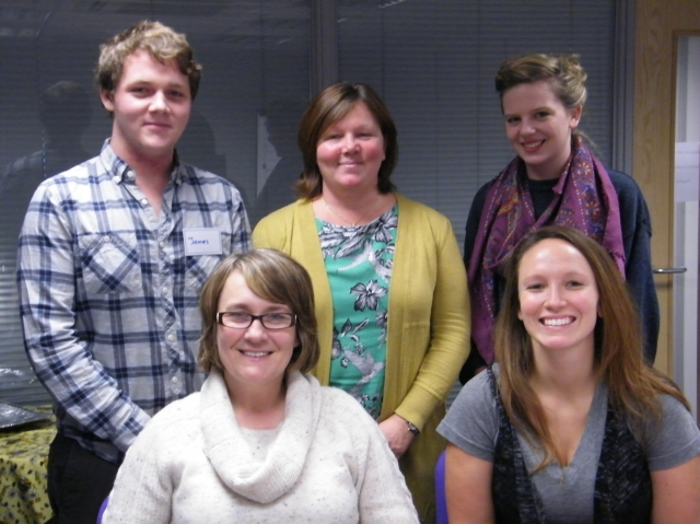 CAREGivers in Durham James, Janet, Alexandra, Enid and Megan